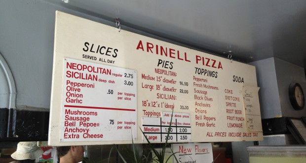 Arinell Pizza: NYC Quality Slices In San Fran