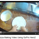 Point Of View Pizza Making With GoPro