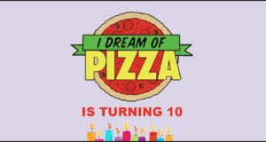 Celebrate IDreamOfPizza's 10 Year Anniversary With Me